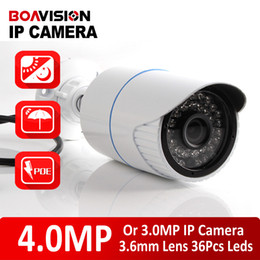 Wholesale Cctv High Resolution Cameras - XMEYE H.265 H.264 Bullet 4MP IP Camera Outdoor POE CCTV Security Camera High Resolution HI3516D + 1 3'' OV4689,IR Range 20M