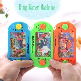 Wholesale Water Game Machines - Factory wholesale Water Ring Toss Child Handheld Game Machine Parent-Child Interactive Game Toys Cultivate Child Thinking Ability Toys