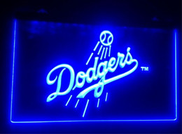 Wholesale Pub Restaurant - b131 Los Angeles Dodgers beer bar pub club 3d signs led neon light sign home decor crafts