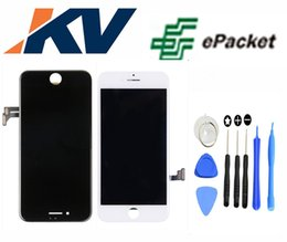 Wholesale Pixel Repair Lcd - for Iphone 7 4.7 LCD Digitizer touch assembly screen with free repair tool kit 1pcs Free Epacket no dead pixel