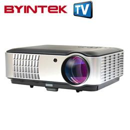 Lcd tv tuners online-Wholesale-TV-Tuner-Projektor High Definition 3500 Lumen Heimkino WXGA full hd 1280x800 Multimedia-PC 1080P Mini-Video-HDMI-USB-LCD-LED