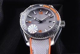 Wholesale Planet Ocean Sapphire - Luxury High Quality Watch JH N8 Factory 43.5MM PLANET OCEAN 600 M CO-AXIAL MASTER CHRONOMETER CAL.8900 Movement Automatic Mens Watches