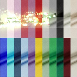 Wholesale Silk Tulle Fabrics - (5 meters lot) 100% silk fabric for sewing 9 momme habutai habotai tecido tulle zakka patchwork fabric DIY tissu silk material
