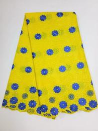 спандекс павлина Скидка Последний новый дизайн Африканский хлопок швейцарский вуаль кружева ткань высокое качество Африканский швейцарский вуаль кружева в Швейцарии GYCL0012