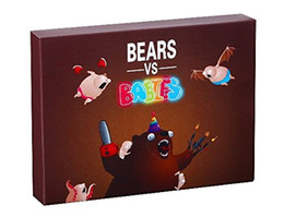 Wholesale Toys Basketball Board - Bears vs Babies A Monster Building From Kittens Card Funny Toy Party Card Games Social Media Board Games