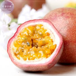 Wholesale plant farms - 2017 Time-limited Limited Happy Farm Courtyard Plants Seeds Garden Supplies 30pcs Exotic Passion Fruit Seeds Passiflora Edulis
