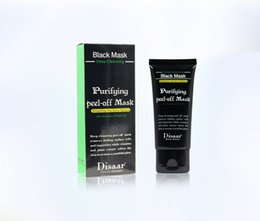Носовая маска онлайн-DISAAR Черная маска отслаиваться маски для лица Глубокое очищение 50 мл Черноголовых маска для лица Поры чище Ана мазня очищающие матовые носовые мембраны