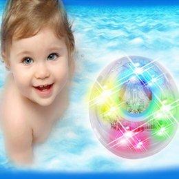 Wholesale Baby Plastic Bath Tub - Toys Hobbies Baby Light-Up Toy LED lighting toy kids children funny tub light bath toys