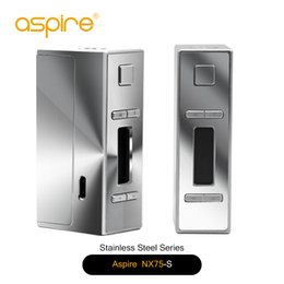 Wholesale Cnc Lines - First Stock Aspire NX75 CNC Edition (NX75-S & NX75-A) Fit for Atlantis EVO Tank NX75-S NX75-A refined lines high-level design 100% Original