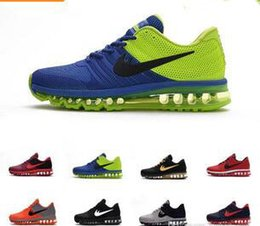 Wholesale Men Shoes Sports Sneakers - 2017 max KPU running shoes for men sports shoes high quality sneaker ,size US 7-13 , free shipping