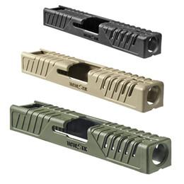 Wholesale Tactical Handguard - Tactical Gun Accessories FAB Defense TS-G17 Tactic Skin Slide Cover For Glock 17 22 31 37 BK DE OD