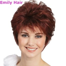 Wholesale China Synthetic Wigs - wigs made in china 2015 Cheap Women Lady'sCheap Short Hair Wig + Wig Net Gift Heat Resistant Synthetic Hair wigs