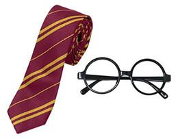 Harry Potter Listrado com Óculos de Novidade Moldura para Trajes Cosplay Acessórios para o Dia Das Bruxas e Natal de Fornecedores de tecidos para vestidos