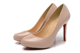 Wholesale Designer Wedding Dresses - Luxury Red Bottom Shoes 2017 Fashion Pointed Toe High Heels Designer 9 Colors Sexy Shallow Mouth Sole High-heeled Women Wedding Dress Shoes