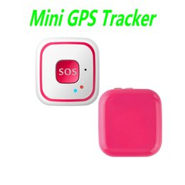 Wholesale Mini Gps Personal Vehicle Tracker - V28 Mini GPS Tracker With Geo-fence and SOS Alarm for Kids Children Elder Pets Real-time Personal and Vehicle GPS Tracker Ann