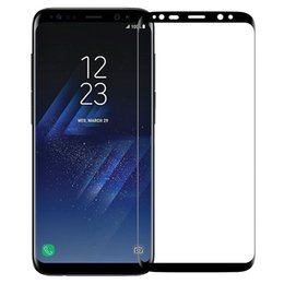 Wholesale Cellphone Screen Protectors - 3D Mini Screen Protector Tempered Glass Film for Samsung galaxy S8 9H cellphone front Screen Protective for Samsung Galaxy S7 Edge