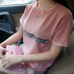 Wholesale Summer Women Tshirts - Wholesale-2015 summer style casual tops women T shirt ladies loose plus size tshirts camisetas femininas brand woman clothes free shipping