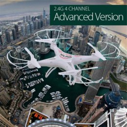 channel gyro Australia - Original RC Drone Dron 2.4GHz 4CH 6-Axis Gyro 3D Aerobatic Quadcopter RTF Drones with Wifi-controlled Function Flying Helicopter