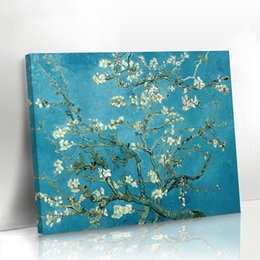 Wholesale Canvas Panels Wholesale - Canvas Oil Painting Van Gogh Flowers For Home Wall Decor Without Frame One Panel Hand-Painted Famous Paintings