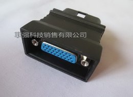 Wholesale Vw Pin Code Reader - 100% Original KingTec KT GM 22 OBD II Connecter GM-22 for KT300 KT600 KT670 Buick Chevrolet 22 Pins OBD 2 OBD-II Adaptor OBDII Obd2 Adapter