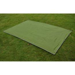 Barraca de dossel grátis on-line-Venda por atacado- 1.5 * 2.15m Camping Toldo Toldo Abrigo Picnic Mat Pad Tarp Tenda Cobertura Dossel Frete Grátis