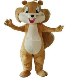 Wholesale Squirrel Mascot Costumes - New hot sale Classical Quality Deluxe Squirrel Mascot Costume, Mouse Mascot Costume ems Free Shipping