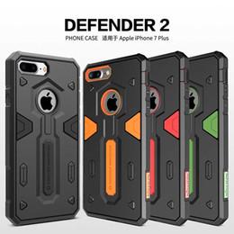 Wholesale Iphone Defender Series - Original Nillkin Defender 2 Series Case Cover For Apple iPhone 6 6S Plus IPhone 7 7Plus With Retail Box