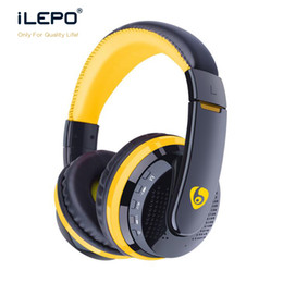 Wholesale Hot Selling Headphones - Hot Selling MX666 Headset Stereo Bluetooth Headphones Overhead Super Bass Headset with Mic For Iphone Samsung Cellphone
