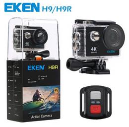 Wholesale Sport Camera Wifi - Original EKEN H9 H9R with remote control Ultra HD 4K WiFi HDMI 1080P 2.0 LCD 170D pro Sports camera waterproof MOQ:1PCS