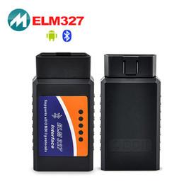 Wholesale Elm 327 Obd2 Eobd Can - Wholesale- Elm327 Bluetooth CAN bus OBD-II Elm 327 OBD2 Scanner code reader OBD2 EOBD CAN-BUS