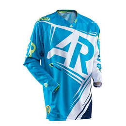 Wholesale Motocross Shirts - Men's Style Off Road Racing Jerseys Motocross T-shirt Downhill Dirt Bike Sweat Moto Jerseys Apparels