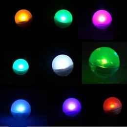 Wholesale Ball Floats - Hot selling LED Fairy Pearls Battery Operated Mini Twinkle LED Light Berries 2CM Floating LED Ball For Wedding Party Events Decoration
