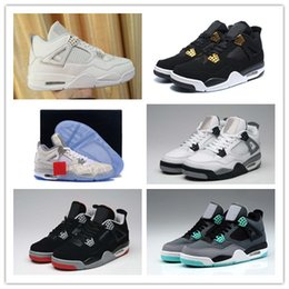 Wholesale Low Price Sneakers - Wholesale Basketball Shoes Retro 4 ROYALTY Pure Money VI Laser 5LAB 30TH ANNIVERSARY Cheap Price online Retro Sneakers Outdoors Athletics