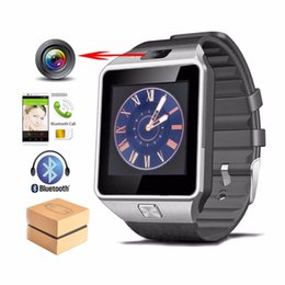 Wholesale Mp3 Phone Watches - DZ09 Smart Watch for Apple Android Phone Smartwatch Wristband with Camera Anti-lost Support SIM TF Card MP3 pk GT08 Intelligence Watch
