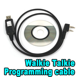 Wholesale Programming Cable For Kenwood - USB Programming Cable for Two Way Radio Walkie Talkie for BAOFENG UV-5R KG-UVD1P BF-888S Kenwood WEIERWEI Puxing LT