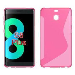 Wholesale Iphone Silicone S Line - Anti Skid Soft Silicone TPU Gel S Line Case For Samsung Galaxy S8 S8 Plus HTC U Ultra U Play