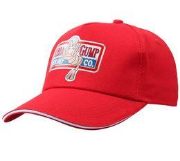 Wholesale baseball hat hooks - New 1994 BUBBA GUMP SHRIMP CO. Baseball cap men&women Sport Summer Cap Embroidered summer Hat Forrest Gump Costume