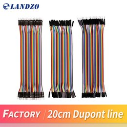 Wholesale Mini Hdmi Female - free shipping Dupont line 120pcs 20cm male to male + male to female and female to female jumper wire Dupont cable for arduino