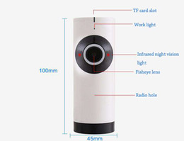 Wholesale Fishing Definition - V380 fish eye 180° panoramic camera, wireless WiFi surveillance camera, high-definition network mobile phone remote monitor