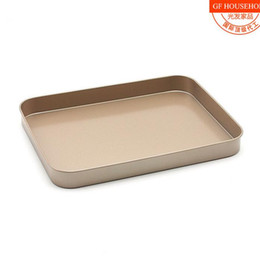 Wholesale Wholesale Bread Loaf Pans - Wholesale- 10-inch rectangular cake bread mold grilled chicken tray Baking Tool FDA-grade nonstick coating Baking Mold
