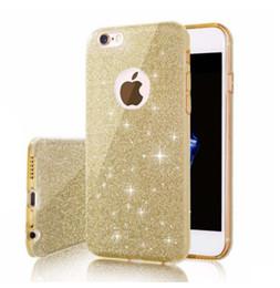 Wholesale Bling For Cellphones - Shinning Mobile Phone Case Bling Cellphone TPU Cover Case for iPhone 5s 6 7 Plus Samsung S7 edge J510 J7 Prime OPPO R9 Plus