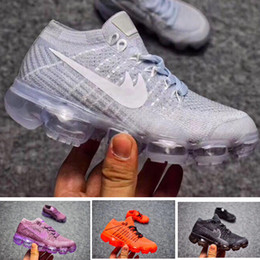 Wholesale Children Sizes - Air Vapor 2018 Infant Sneaker Kids Running shoes Children sports shoes outdoor girls and boys High quality Tennis footwear size 28-35