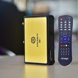 Wholesale Dvb S Tv Box - high quality mini Satellite Receiver Receptor Decoder DVB-S2 tv box Linux system Support IKS Stalker IPTV in Set Top Box