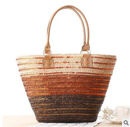 Dropshipping Gold Straw Beach Bags UK | Free UK Delivery on Gold ...