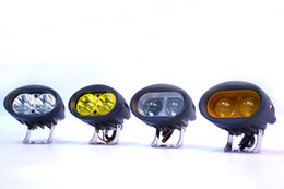 Wholesale Yellow Offroad Lights - 20W LED Driving Light high intensity Tractor Work Light Warning Driving Offroad Trucks forklift warning tail light