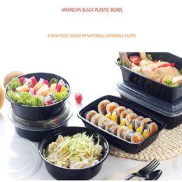 Американские контейнеры онлайн-150 шт. / лот американский стиль одноразовые контейнеры для хранения продуктов питания сейф здорового питания ящик для хранения микроволновая печь удобный ланч-бокс