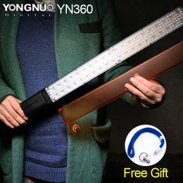 All'ingrosso-YONGNUO YN360 ICE / Pixel Stick Combo, bacchetta video LED a luce diretta 3200k 5500k RGB foto colorata LED Stick da