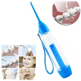 Wholesale Dental Floss Oral Care - Oral Irrigator Dental Floss Implement Water Flosser Irrigation Water Jet Dental Irrigator Flosser Tooth Cleaner Oral Care