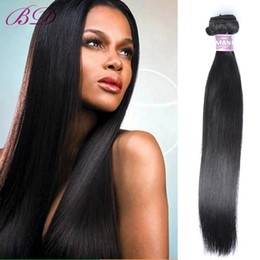 Wholesale Color Suppliers - BD Silky Straight Golden Suppliers Remy Hair Sew In Hair Extensions Virgin Malaysian Straight Human Hair Bundles