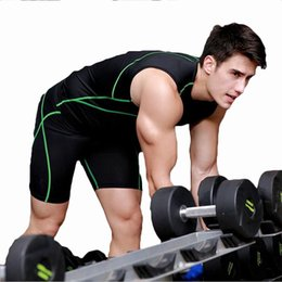 Wholesale Men Red Trousers - Fitness trousers Basketball training pants elastic compression fast pants sports